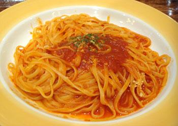 110520_生麺工房 パスタ クレッソ「完熟トマトパスタ」