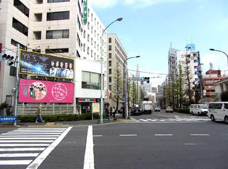 140409_千駄ヶ谷小学校交差点