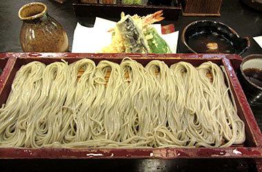 150312_須坂屋そば「へぎそば 手振り」「天ぷら盛合せ」(小)