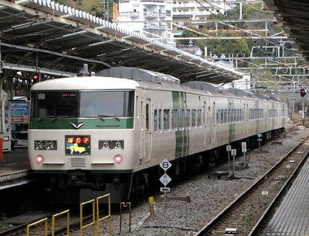 170410_JR熱海駅・特急踊り子・185系