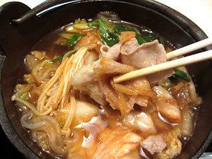 180420_ぎんたんぽ「キムチ鍋定食」