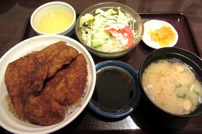 180624_ヨーロッパ軒総本店「カツ丼セット」