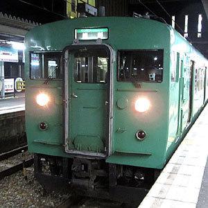 190728_115系・西舞鶴駅