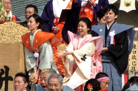 200203_成田山不動尊・節分祭・戸田恵梨香・大島優子・林遣都