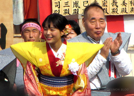 200203_成田山不動尊・節分祭・中川可菜(おけいはん)
