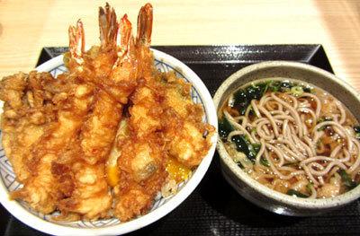 201218_日本橋 天丼 金子半之助 「海老天丼」